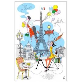 Torchons La Parisienne
