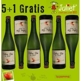 Cidre BIO 75cl Juliet. Pack