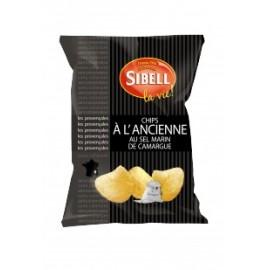 Chips à l'ancienne med havssalt från Camargue 135g