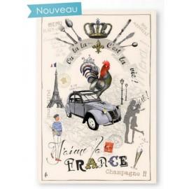 Kökshandduk J'aime La France