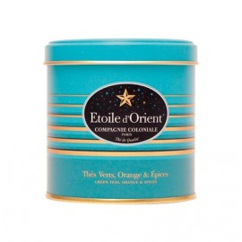 Te Etoile d'Orient 100gr i plåtburk - Grönte med kryddor