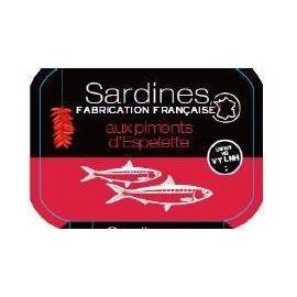 Sardines au piment et tomates 135g