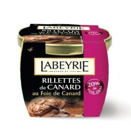 Rillettes au foie gras