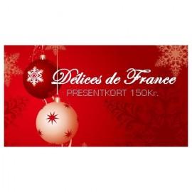 Presentkort 150Kr (gratis frakt)