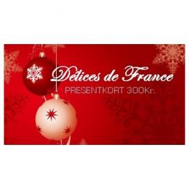Presentkort 300Kr (gratis frakt)