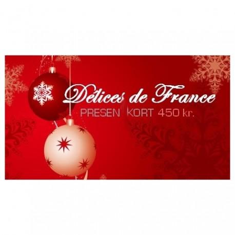 Presentkort 450Kr (gratis frakt)