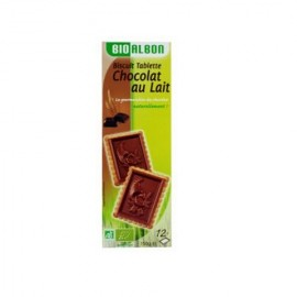 Biscuits tablette chocolat au lait BIO 150gr