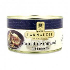 Confit de canard - Ankconfit 4/5 lår