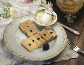 Bloc de foie gras d'oie 70g aux truffes