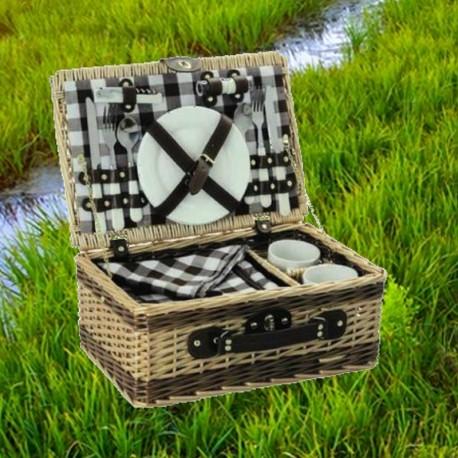 panier pique nique isotherme d lices de france franska delikatesser. Black Bedroom Furniture Sets. Home Design Ideas