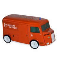 Coffret Tube Citroën orange Galettes Normandes