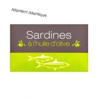 Sardiner i olivolja 125g.