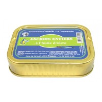 Anchois entiers 100g Courtin