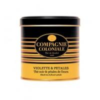 Svart te med violblad från Provence 100g - China