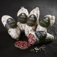 Salami med hasselnötter