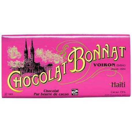 Mörkchoklad Haïti 100g.