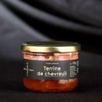 Terrines de chevreuil 190gr