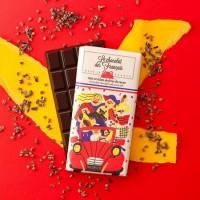 Mörkchoklad 71% EKO med chokladbitar 80g