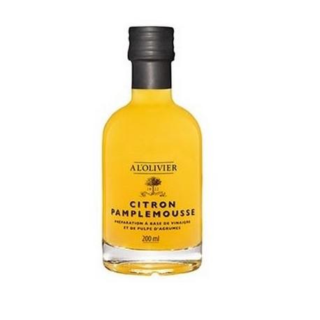 Citron/Grappefrukt vinäger 200ml. Al'olivier