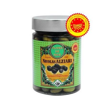 olives de Nice AOP Alziari 220gr