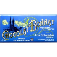 Mörkchoklad LOS COLORADOS Equateur Bonnat 100g.