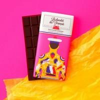EKO choklad 71% med havssalt - Chocolat des Francais 80gr