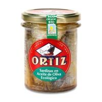 Sardiner i EKO Olivolja Ortiz 190g