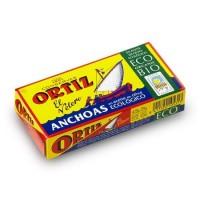 Anchois à l'huile d'olive bio 47,5g