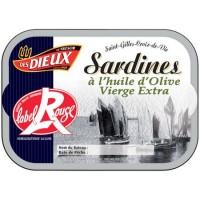 Sardiner Label Rouge 115g Les Dieux