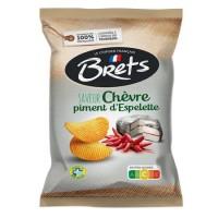 Chips Chevre & Espelettechilli 125g Bret's