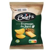 Chips med Jura ost (Comté AOP) 125g Bret's