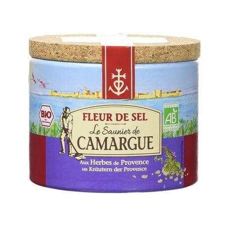 EKO Fleur de Sel Camargue med Provence örter 125g. Havssalt