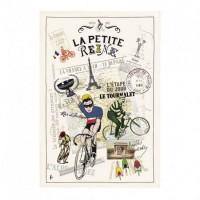 Kökshandduk La France à Vélo