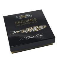 Sardiner med olivolja & guld 115g