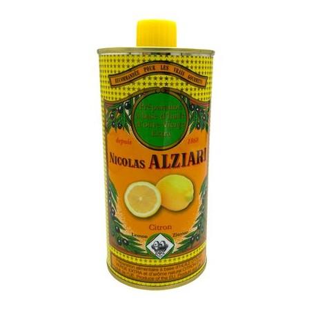 Huile d'olive Alziari citron 500ml