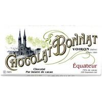 Chocolat noir Bonnat 100g EQUATEUR