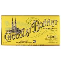 Chocolat au lait Bonnat 100g ASFARTH