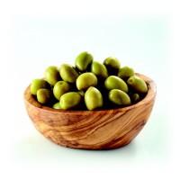 Olives vertes entièrs 200g Barral