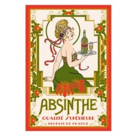 Kökshandduk Absinthe