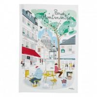 Kökshandduk Montmartre