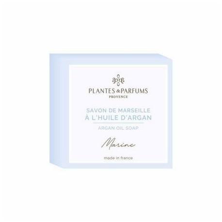 Fast tvål från Marseille med arganolja - DOFT AV HAVSBRIS (MARINE) 100g