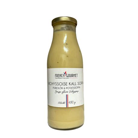 Vichyssoise purjolök & potatissoppa kall 490g FG