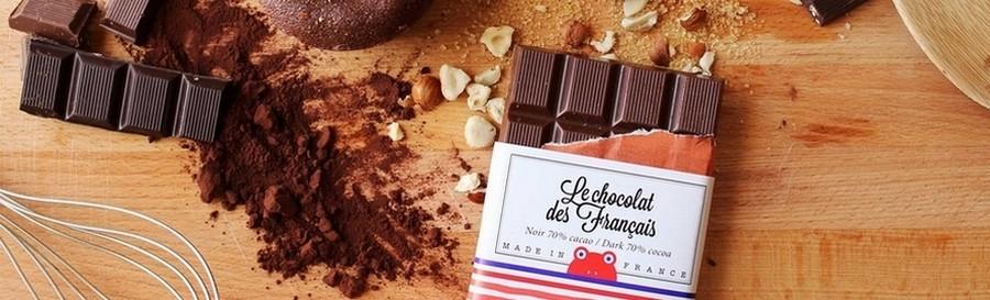 Choklad, Macarons, Te